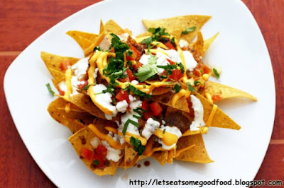 Nachos - Easy Nachos Recipe