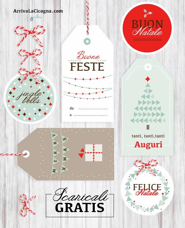 Biglietti Per Regali Di Natale Da Stampare.Arriva La Cicogna Biglietti Di Auguri Di Natale Da Stampare Gratis Per Voi