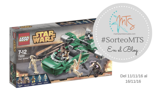 Sorteo Back to the blog - LEGO STAR WARS