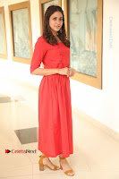 Actress Lavanya Tripathi Latest Pos in Red Dress at Radha Movie Success Meet .COM 0040.JPG
