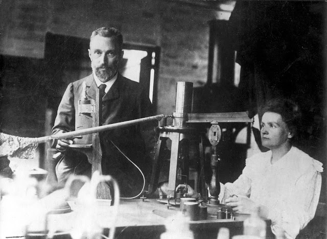 Pierre και Marie Curie