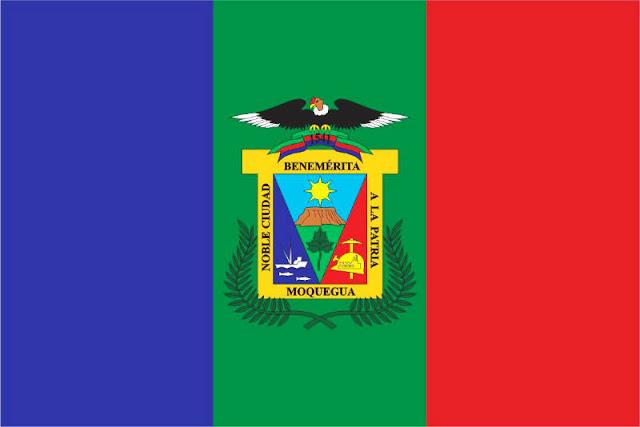 Bandera de Moquegua