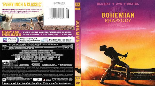 Bohemian Rhapsody Bluray Cover