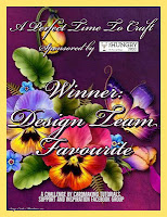 Tania 's DT Favorite Winner - April's Challenge #4