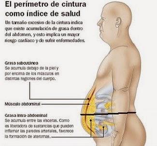Perímetro de la cintura como indicador de salud