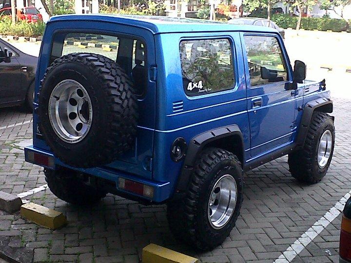 Modifikasi Suzuki Jimny Katana