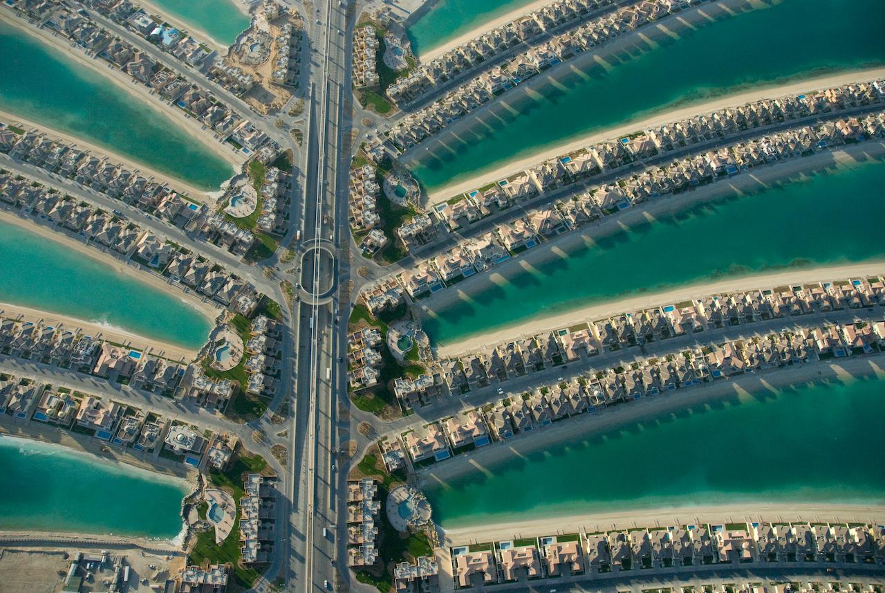 World Beautiful Sights: Palm Island Dubai 2