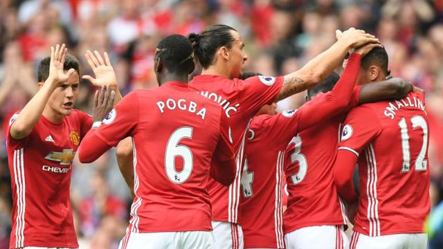 [Video] Cuplikan Gol Manchester United 4-1 Leicester (Liga Inggris)