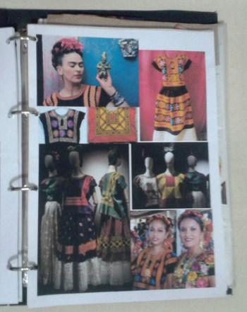 Pesquisa Frida Kahlo trajes tehuanos
