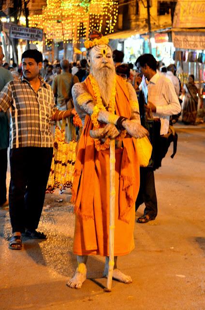A Sadhu at Varanasi
