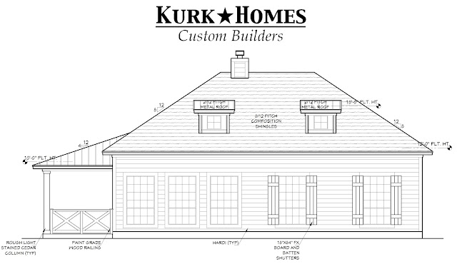 Home floor plan for independent living