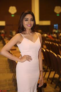 Aishwarya Devan in lovely Light Pink Sleeveless Gown 043.JPG