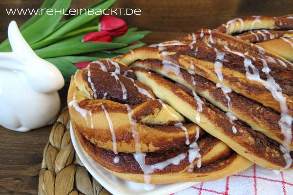 Nuss-Nougat-Hefezopf | Foodblog rehlein backt