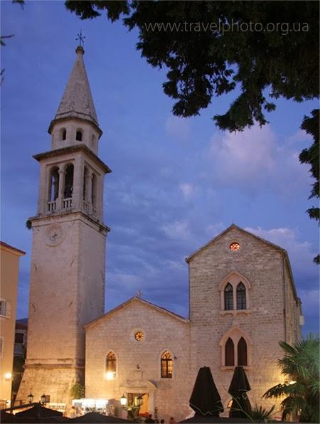 Церковь Святого Иоанна, Будва