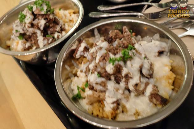 beef shawarma rice