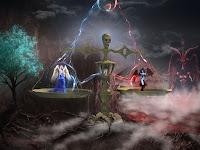 Menguak Cerita Misteri Penampakan Hantu Pasar Setan Keramat Di Makam Ranjang Gumantung