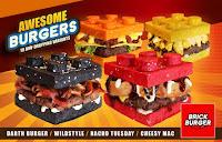 Anda Akan Mendapatkan Burger Lego Ini di Filipina