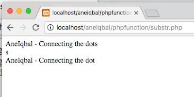 tutorial fungsi substr php