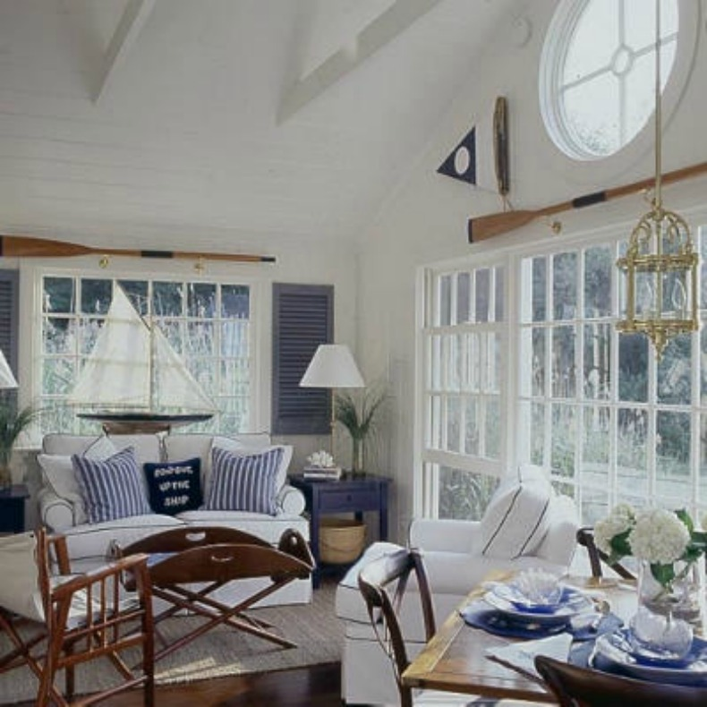 Coastal Home: Inspirations On The Horizon: Nautical Rooms
