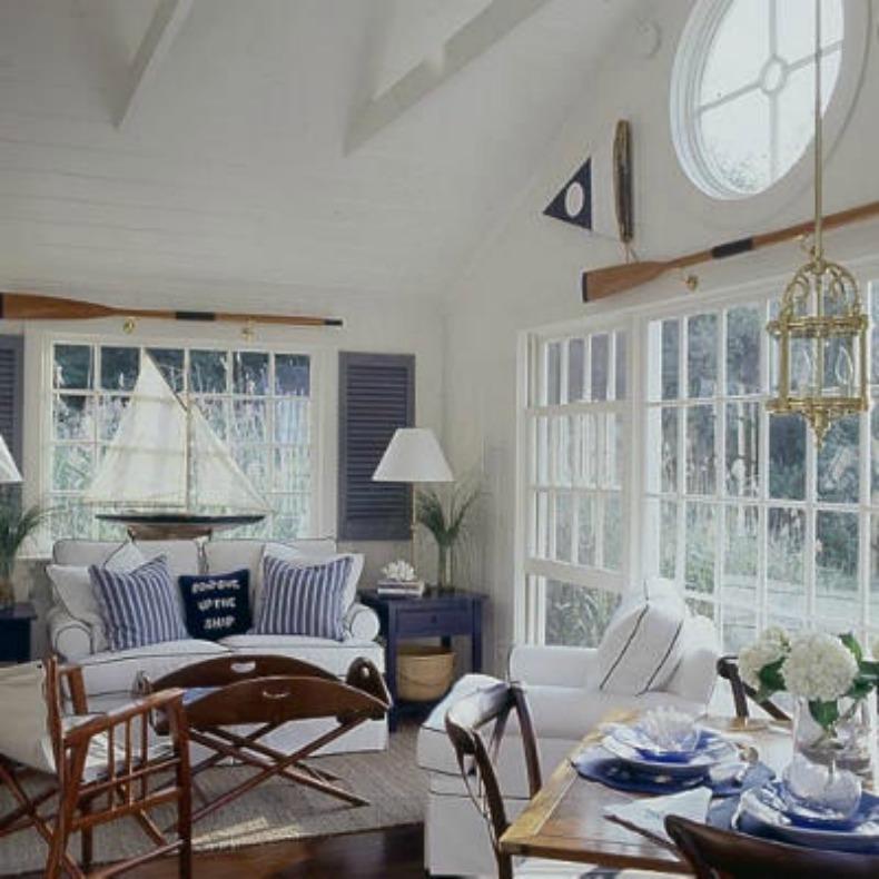 Inspirations on the Horizon: Nautical Coastal rooms