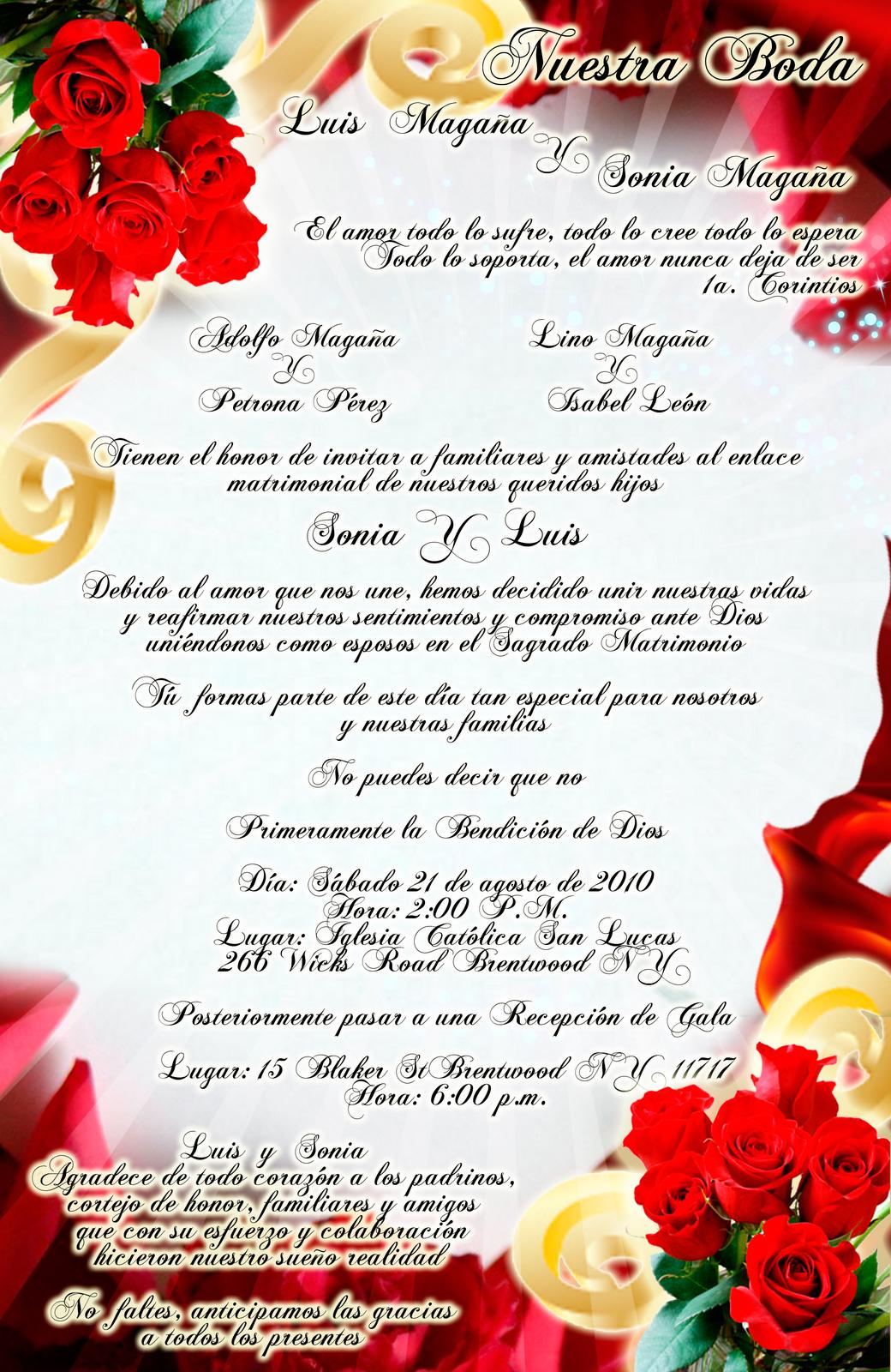 tarjeta de invitacin para boda elegante y novedosa roja con rosas rojas