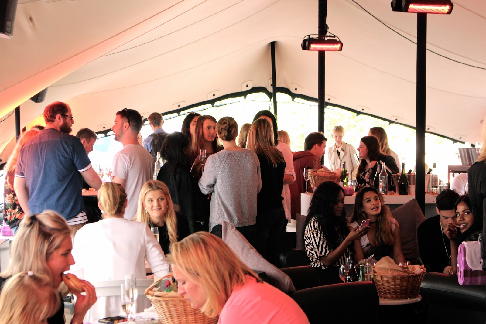Mercure blog and press VIP event Somerset House