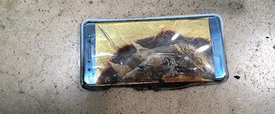 إنفجار جديد لهاتف سامسونغ Note7 في جيب رجل أميركي و يرفع دعوة على سامسونغ