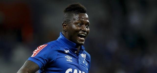 Cruzeiro vence briga na Justiça contra Riascos