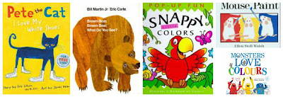 Color themed storytime, books about colors