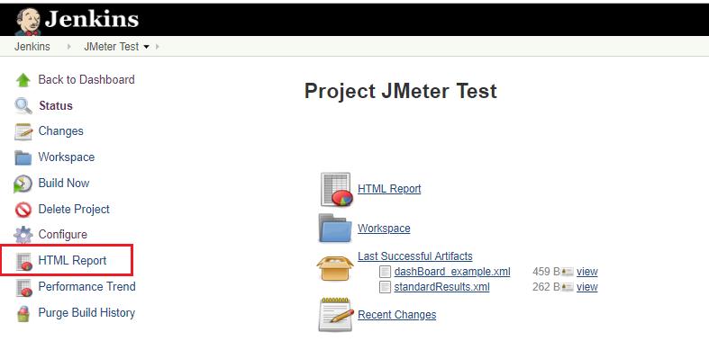 JMeter on the Fly: Jenkins Publish HTML Report for JMeter Test