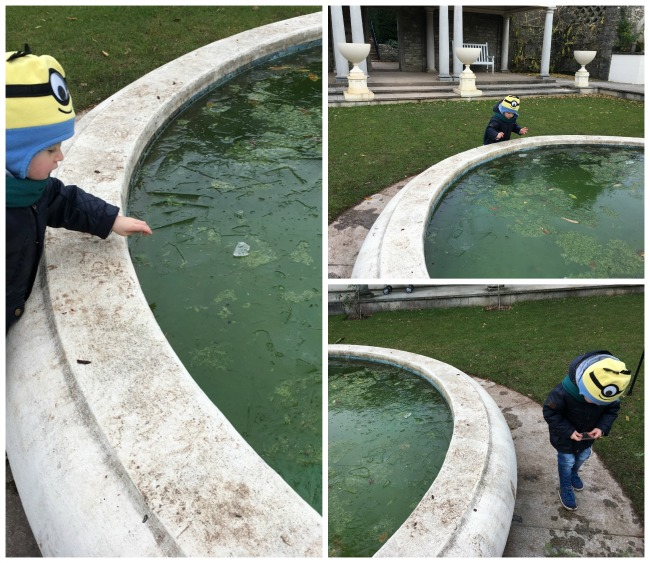 Sun-and-ice-toddler-ice-on-fountain-at-Dyffryn-Gardens