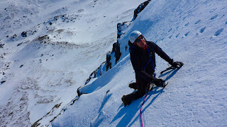 Guided winter climbing in the Cairngorms