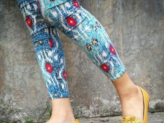 Tampil Gaya Dengan The Warna, Sepatu Etnik Masa Kini