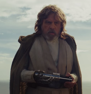 star wars last jedi luke skywalker brooding