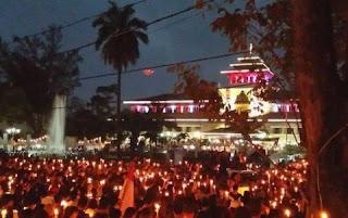 Diusik Aksi Lilin Ahoker, Bobotoh Persib Ngamuk Lewat Tagar #BandungTeuPaduli