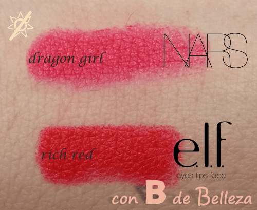 Clon Dragon girl de NARS