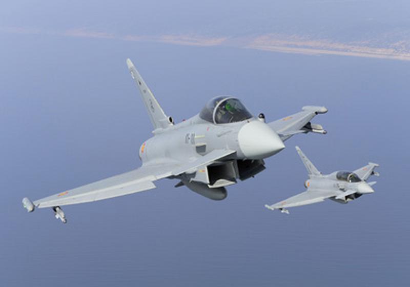 Se estrellan en Alemania dos Eurofighter tras chocar durante un vuelo de entrenamiento