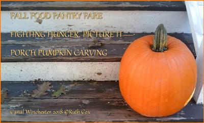 Fall Food Pantry Porch Pumpkin Haiku