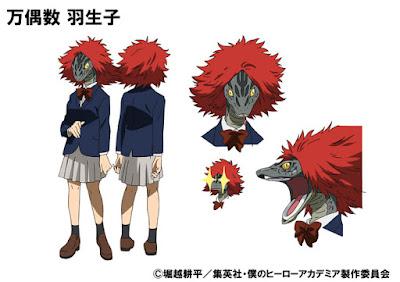 Habuko Mongoose, amiga de Tsuyu, con voz de Maaya Uchida