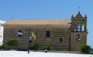 Plaza Solomos. San Nicolás de la Mole.