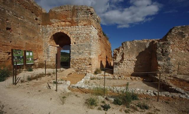 Castelo de Paderne no Algarve