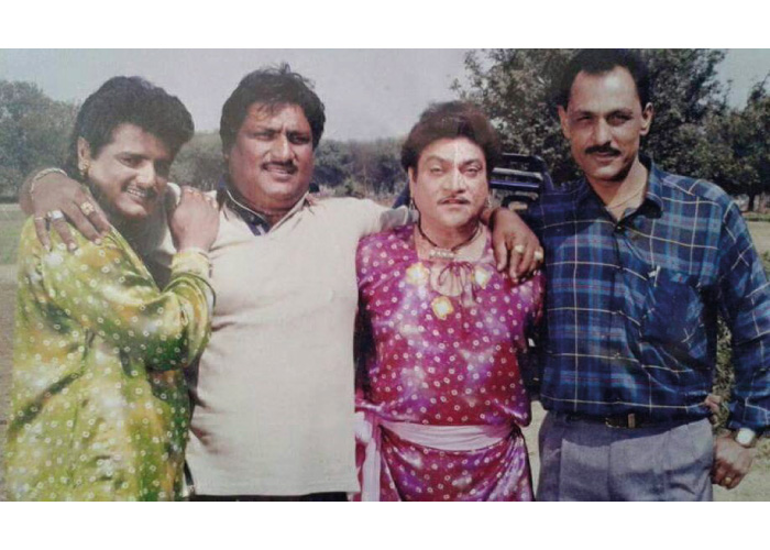 Maniraj Barot with Friends