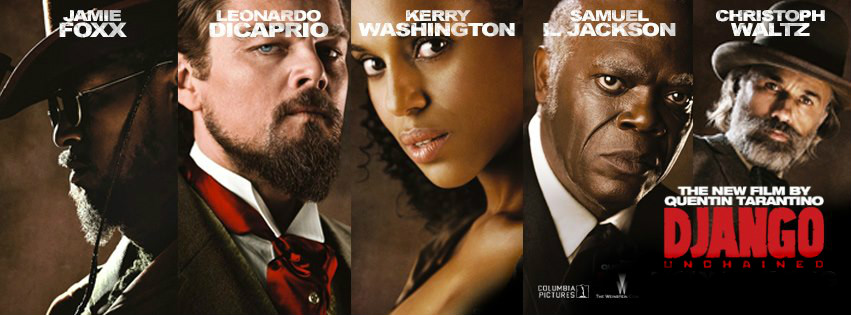 b77bb2f48a Christoph Waltz Jamie Foxx Leonardo DiCaprio Kerry Washington Samuel L  Jackson in Django Unchained Directed by