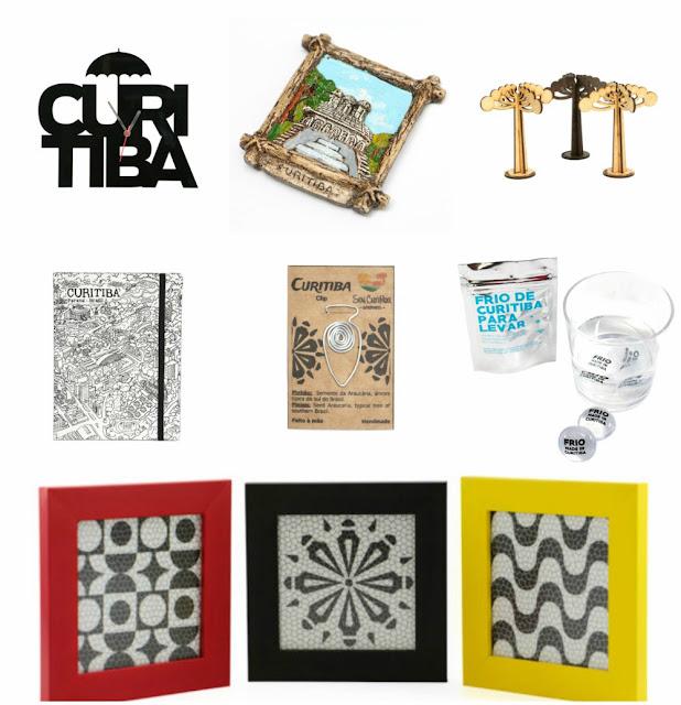 Onde comprar souvenirs de/em Curitiba? Curitiba na Bagagem