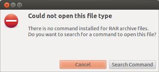 Cara Gampang Extract File Winrar Pada Ubuntu