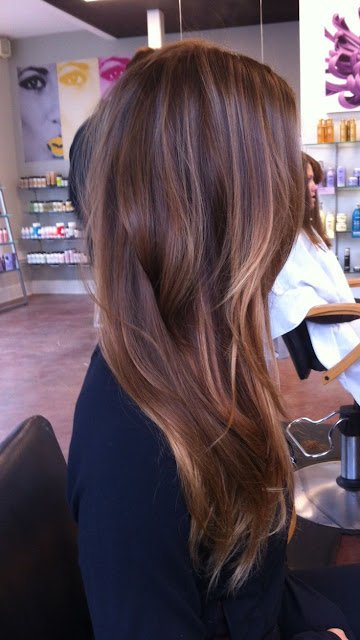 Long Balayage Hairstyle