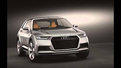 Audi Q8 SUV Concept photos
