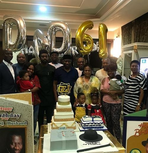 Photos From Goodluck Jonathan's 61st Surprise Birthday Celebration