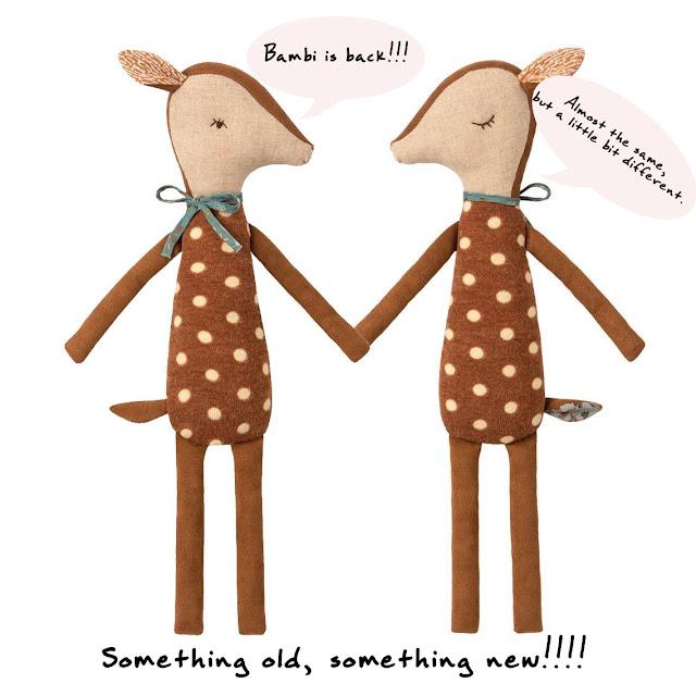 Maileg bambi knuffel