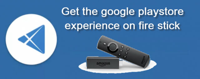 Yalp Store app for fire tv : Get the google playstore experience on fire stick and fire tv